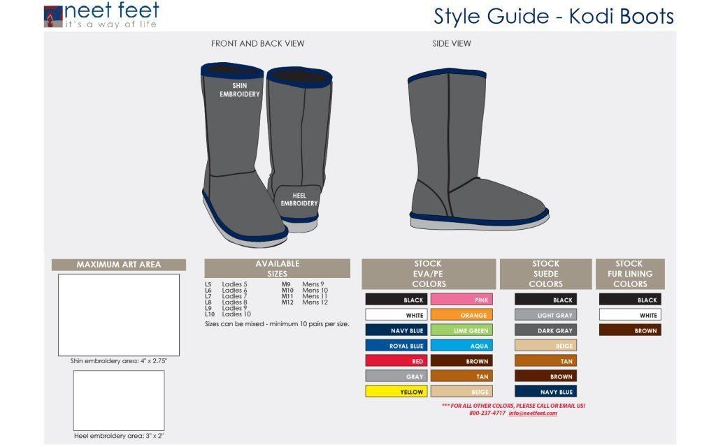 Kodi Boots Style Guide
