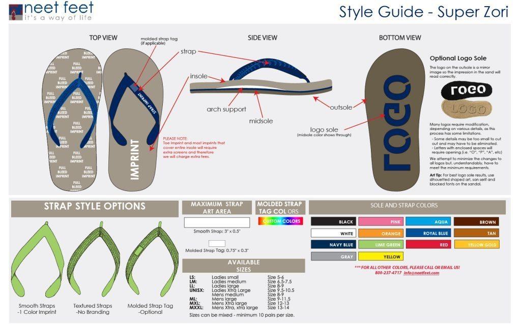 Super Zori Style Guide