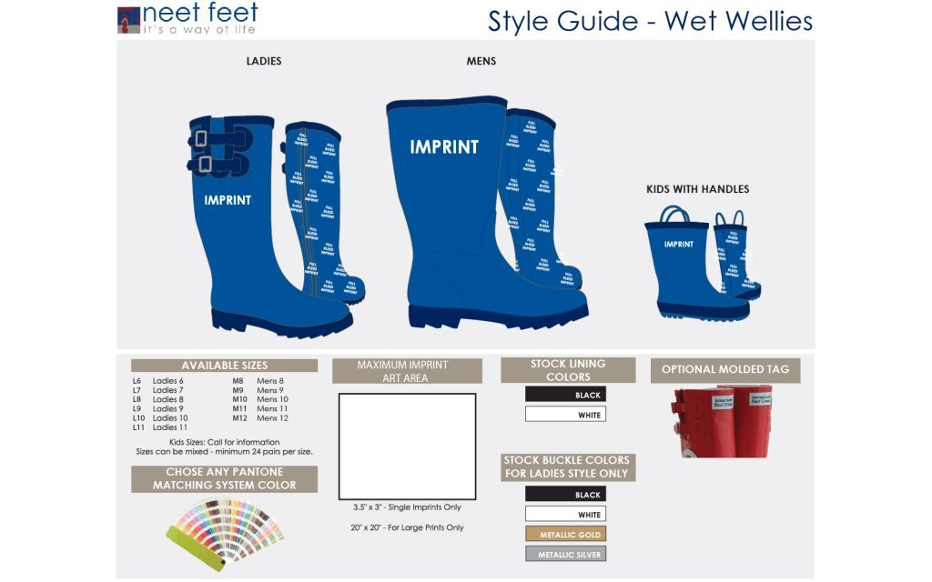 Wet Wellies Style Guide