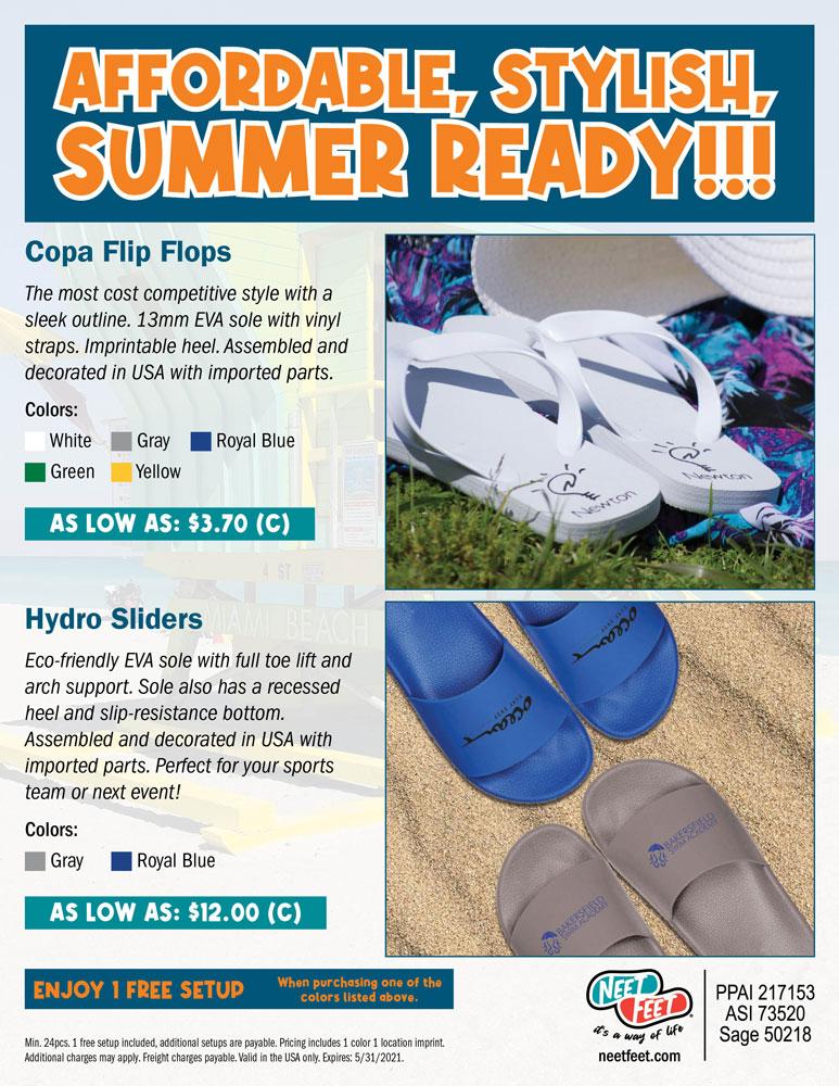 Affordable, Stylish, Summer Ready!