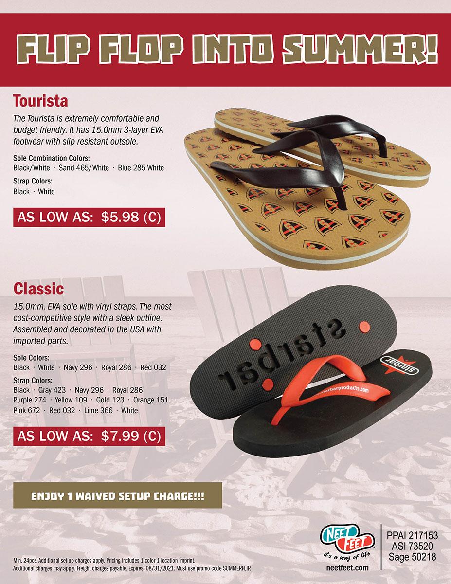 Flip Flop Into Summer!